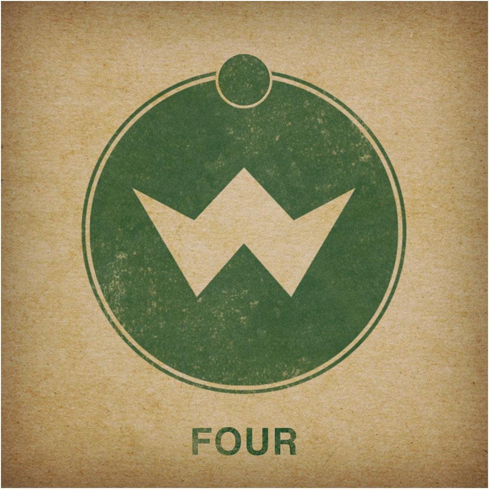 V4 album border