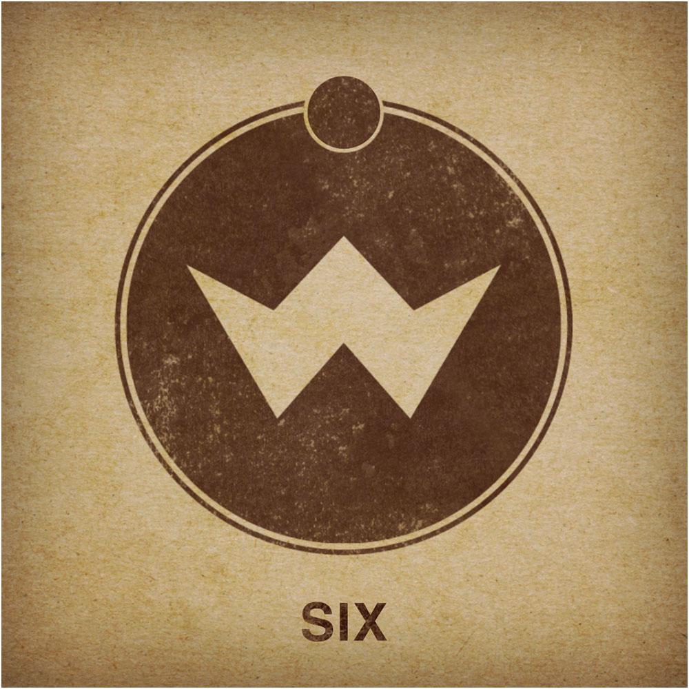 V6 album border
