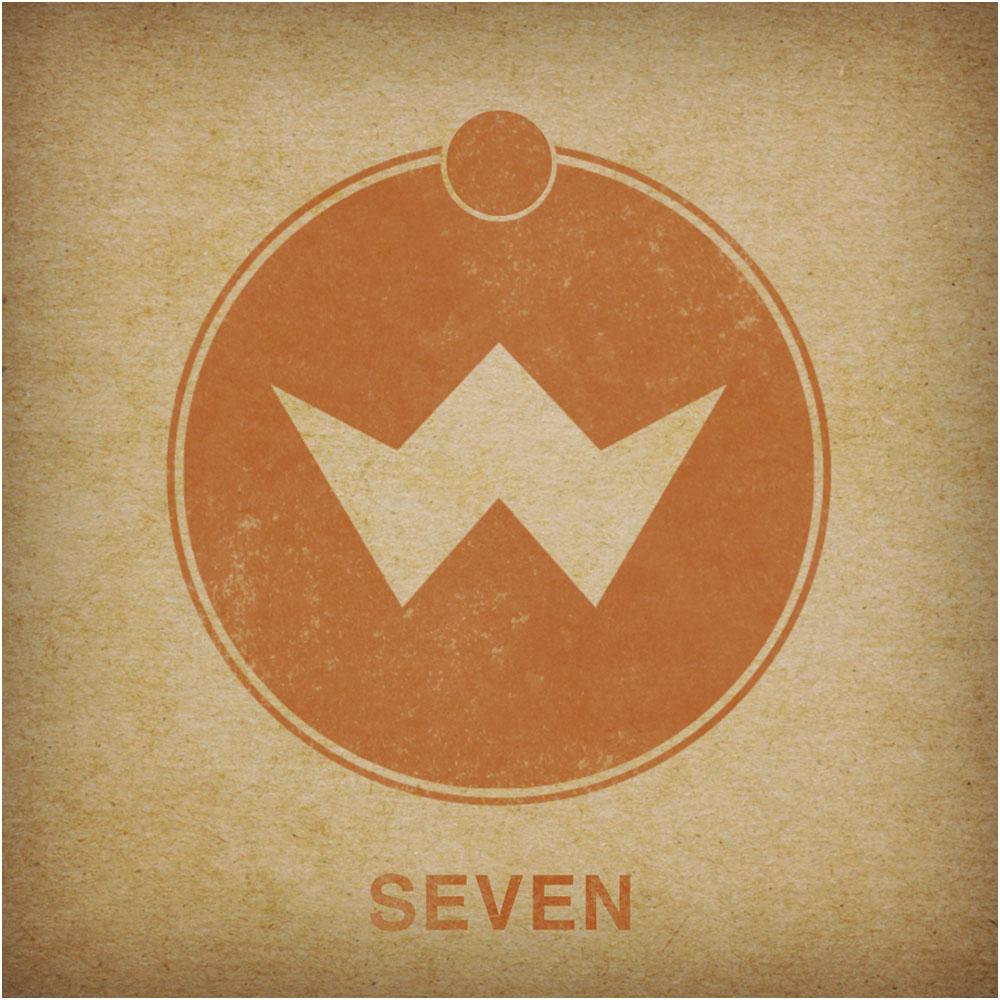 V7 album border