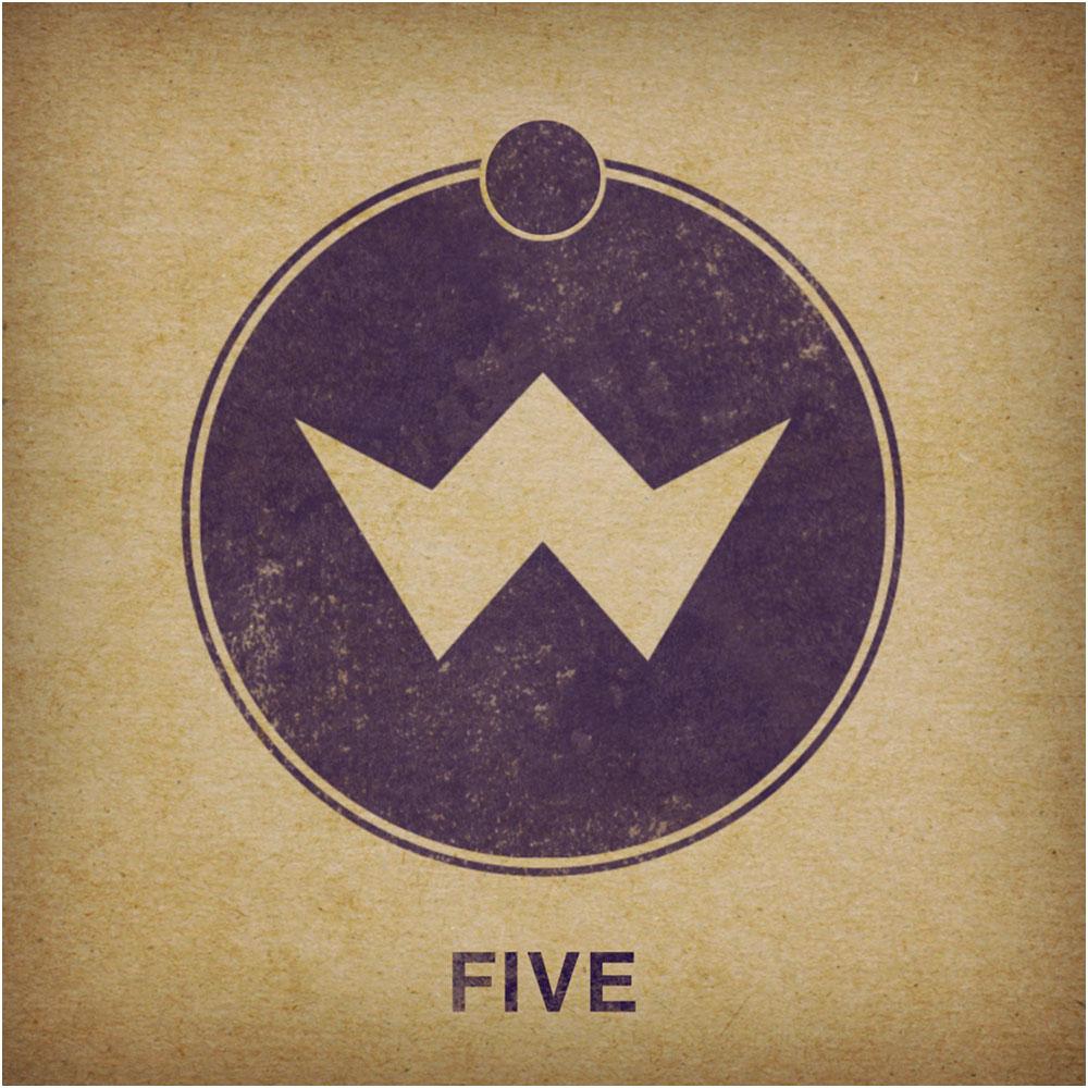V5 album border